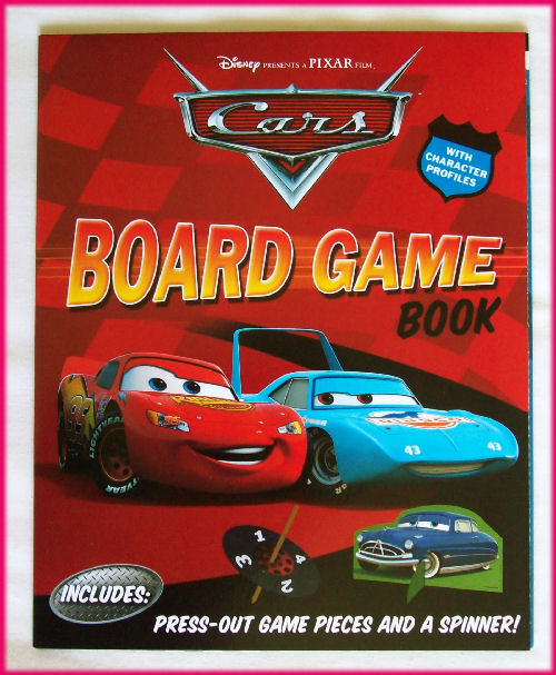 disney cars board game book fold out race track game - Disney Cars Books