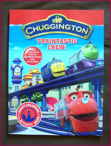 Details about CHUGGINGTON - JUMBO COLOURING IN & ACTIVITY Puzzles Colour-in  BOOK Color - NEW